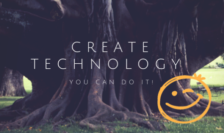 KIDS SHOULD BE CREATORS OF TECHNOLOGY!